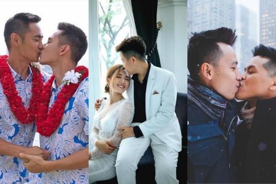 Cuộc sống của 5 cặp đôi nghệ sĩ LGBT sau khi quyết định về chung một nhà