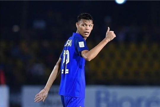 Tiền đạo duy nhất tuyển Thái Lan: 'Không bỏ cuộc, rất muốn ghi bàn vào lưới Việt Nam'