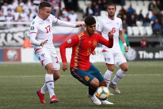 Tây Ban Nha - Faroe:  Thực thi sức mạnh, La Furia Roja đặt một chân vào VCK Euro 2020