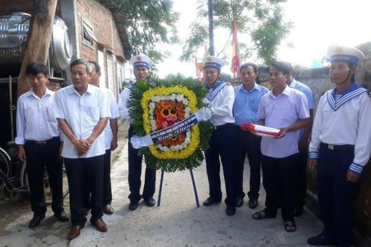 Quảng Bình: Quê nhà đưa tiễn Thiếu tá Hải quân qua đời ở nhà giàn DK1