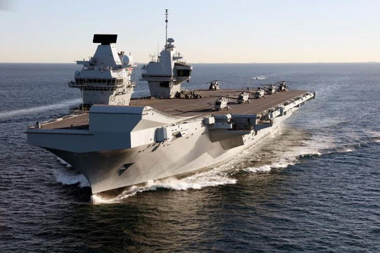 Trung Quốc cảnh báo Anh đưa tàu sân bay tới Biển Đông là 'hành động thù địch'