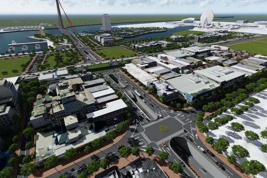 Đà Nẵng chi hơn 723 tỉ xây dựng nút giao thông phía tây cầu Trần Thị Lý