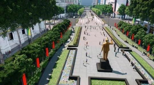 Chỉnh trang, quy hoạch lại phố đi bộ Nguyễn Huệ