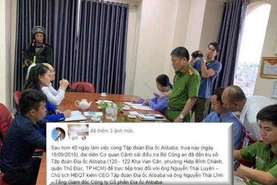 CEO Nguyễn Thái Luyện bị bắt, nhân viên Alibaba loan tin Bộ Công an chỉ ghé thăm cty?!