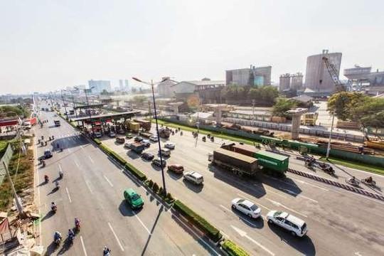 Trạm thu phí BOT Xa lộ Hà Nội sắp hoạt động trở lại