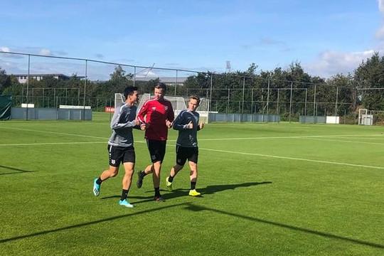 Đoàn Văn Hậu có buổi tập đầu tiên tại SC Heernveen cùng Messi Croatia