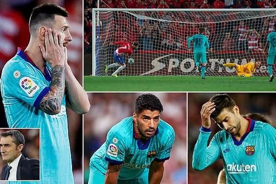Messi trở lại, Barcelona vẫn thất bại, chu kỳ suy thoái đã đến