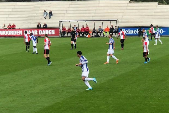 Đoàn Văn Hậu lần đầu đá chính cho Jong Heerenveen