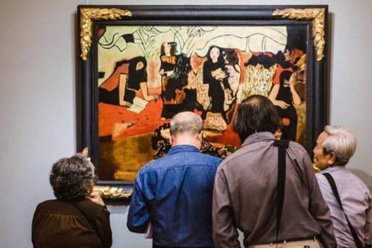 Tranh giả tác phẩm của họa sĩ Việt Nam bị rút khỏi sàn đấu giá Sotheby's