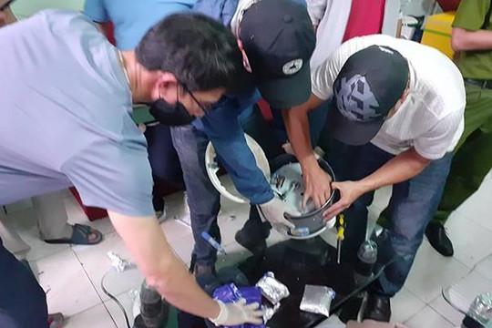 Đà Nẵng: Bắt 4,5 kg ma túy trong nồi cơm điện
