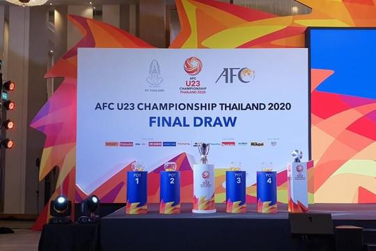 Lễ bốc thăm U.23 châu Á 2020: Nín thở chờ đối thủ của Việt Nam