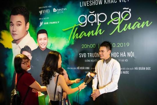 Tuấn Hưng, Trấn Thành, Đông Nhi là khách mời trong liveshow miễn phí của Khắc Việt