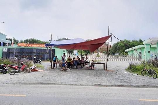 Hà Tĩnh: Người dân xã Kỳ Tân lại chặn cổng nhà máy rác gây ô nhiễm