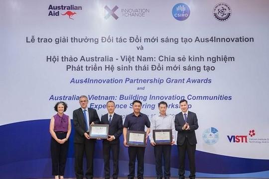 3 sáng kiến hợp tác của Việt Nam được tài trợ lên đến 1,6 triệu đô la Úc