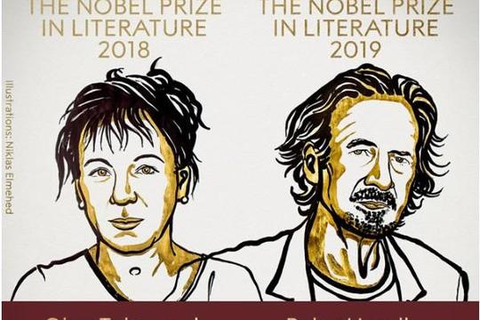 Hai tác giả Ba Lan và Áo được trao giải Nobel Văn học 2018/2019