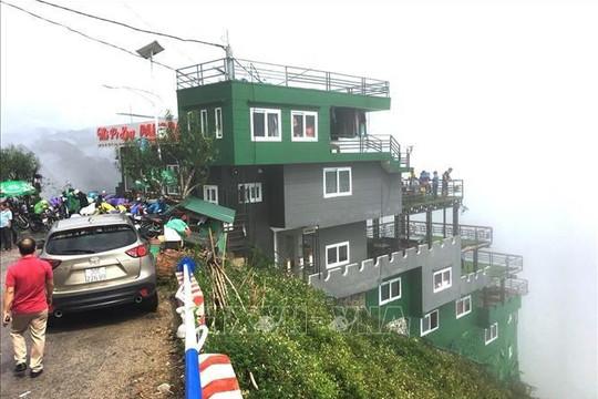 Buộc tạm dừng mọi hoạt động nhà hàng trên đèo Mã Pí Lèng