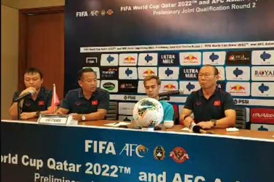 Thuyền trưởng tuyển Việt Nam tuyên bố: 'Chúng tôi đã chuẩn bị để chiến thắng Indonesia'