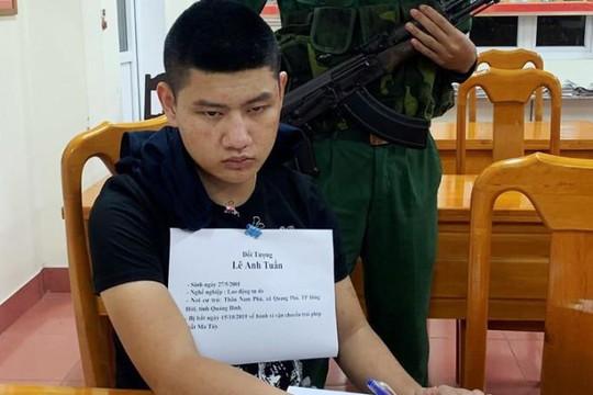 Quảng Bình: Bắt 3 thanh niên vận chuyển 1kg ma túy