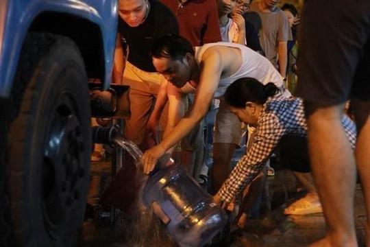 Từ 21h tối qua, Công ty nước sạch sông Đà cấp nước trở lại