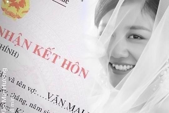 Ảnh cưới, giấy kết hôn của Văn Mai Hương chỉ là chiêu PR