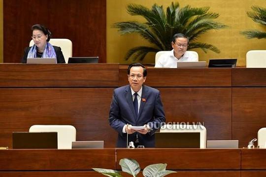 Bộ trưởng Đào Ngọc Dung: Nếu giảm giờ làm, tăng trưởng sẽ giảm 0,5%