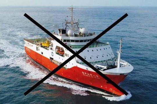 Bộ Ngoại giao lên tiếng về việc tàu Hải Dương 8 rút khỏi vùng biển Việt Nam