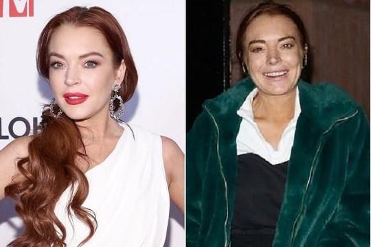 Lindsay Lohan lộ mặt mộc già nua đến khó tin