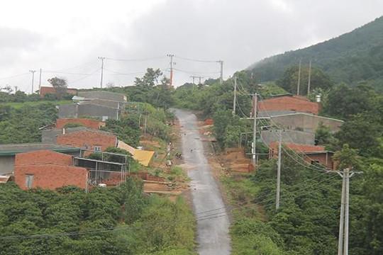Kon Tum: Hàng loạt sai phạm tại khu tái định cư 150 tỉ đồng vốn ngân sách