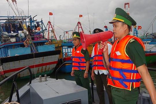 Bình Định: Quân đội chủ động ứng phó bão số 5