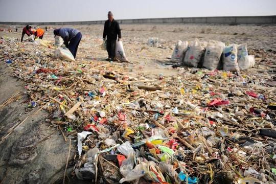 Trung Quốc đổ lượng chất thải kỷ lục xuống biển