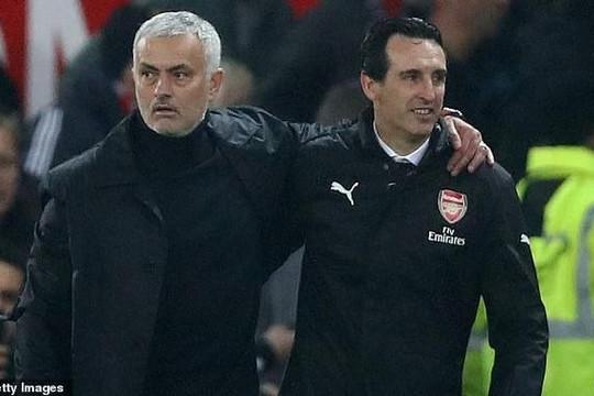 Bị những danh hiệu vô địch cám dỗ, Mourinho có thể thay thế Emery dẫn dắt Arsenal