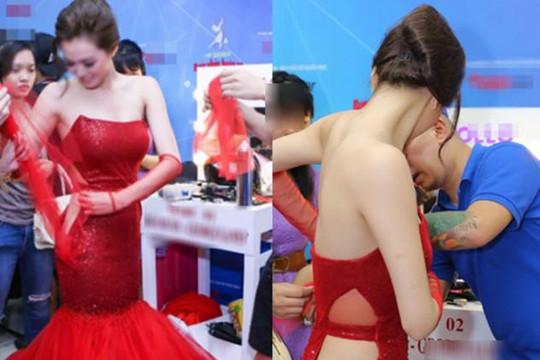 Người mẫu cởi áo che chắn cho nữ sinh rách váy: 'Anh chỉ muốn làm chuyện ấy với em'
