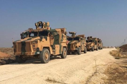Thổ Nhĩ Kỳ - Nga bắt đầu tuần tra chung tại đông bắc Syria