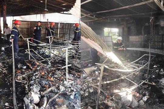 Nghệ An: Cháy tiệm tạp hóa trong nhà 3 tầng, thiệt hại 1 tỉ đồng
