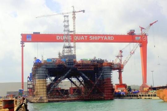 Nhà máy đóng tàu Dung Quất: Không sản phẩm vẫn trả lương tháng cho 2.200 người