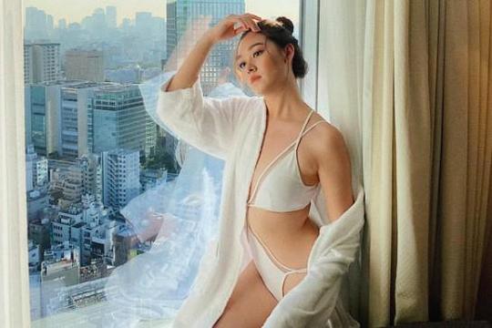 Á hậu Tường San khoe thân hình sexy trước giờ thi bikini tại Miss International 2019