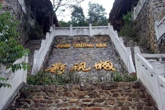 Công trình 'bí mật' nghi là phim trường của nhóm người Trung Quốc ở Lạng Sơn