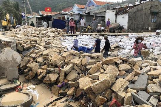 Ứng phó bão số 6: Bình Định sơ tán gần 10.000 dân