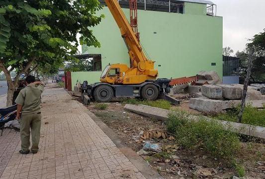 An Giang: Đứt cáp, khối bê-tông đổ sập khiến một công nhân chết tại chỗ