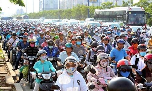 TP.HCM chỉ có hơn 8% đất dành cho giao thông