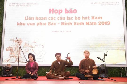 Ninh Bình tổ chức liên hoan các câu lạc bộ hát Xẩm khu vực phía Bắc