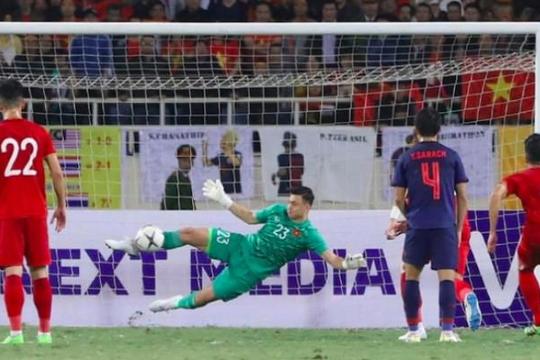 Đặng Văn Lâm: 'Chia điểm với Thái Lan và vẫn đứng đầu bảng G cũng là tuyệt vời'