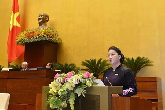 Chủ tịch Quốc hội: Kiên trì, kiên quyết bảo vệ chủ quyền Biển Đông
