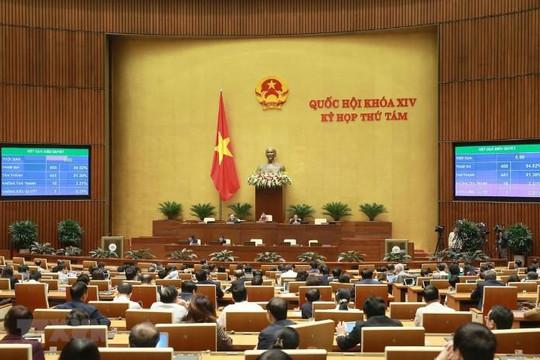 Hôm nay, ngày làm việc cuối cùng của Kỳ họp thứ 8, Quốc hội khóa XIV