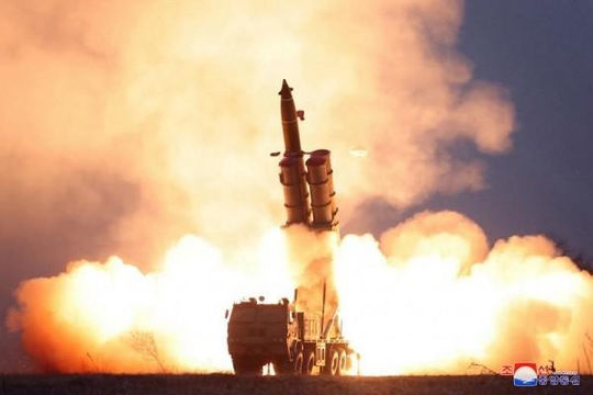 Triều Tiên dọa phóng tên lửa đạn đạo
