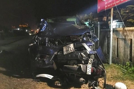 Phó thủ tướng yêu cầu điều tra vụ tai nạn giao thông ở Phú Yên