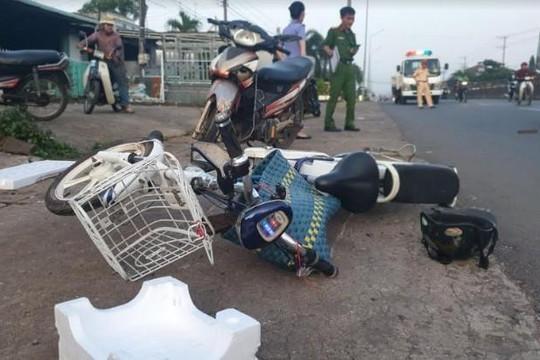 Người điều khiển xe máy tử nạn khi tông vào xe đạp điện