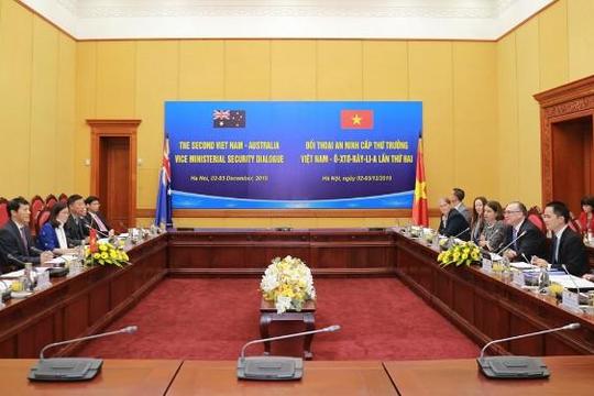 Đối thoại An ninh cấp Thứ trưởng Việt Nam – Australia lần thứ hai