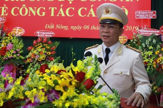 Bổ nhiệm và điều động hai Đại tá làm Giám đốc Công an tỉnh Đắk Nông, Đắk Lắk