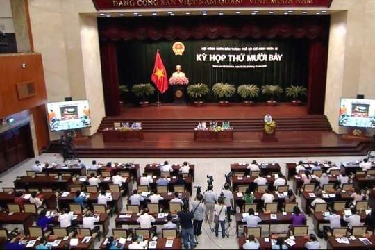 Bế mạc kỳ họp HĐND TP.HCM, đại biểu vẫn băn khoăn về ngân sách giữ lại quá thấp